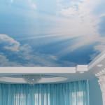 небеса натяжной потолок