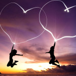 hearts-love-jump-girl-boy-landscape-сердце-любовь-прыжок-девушка-парень-пейзаж